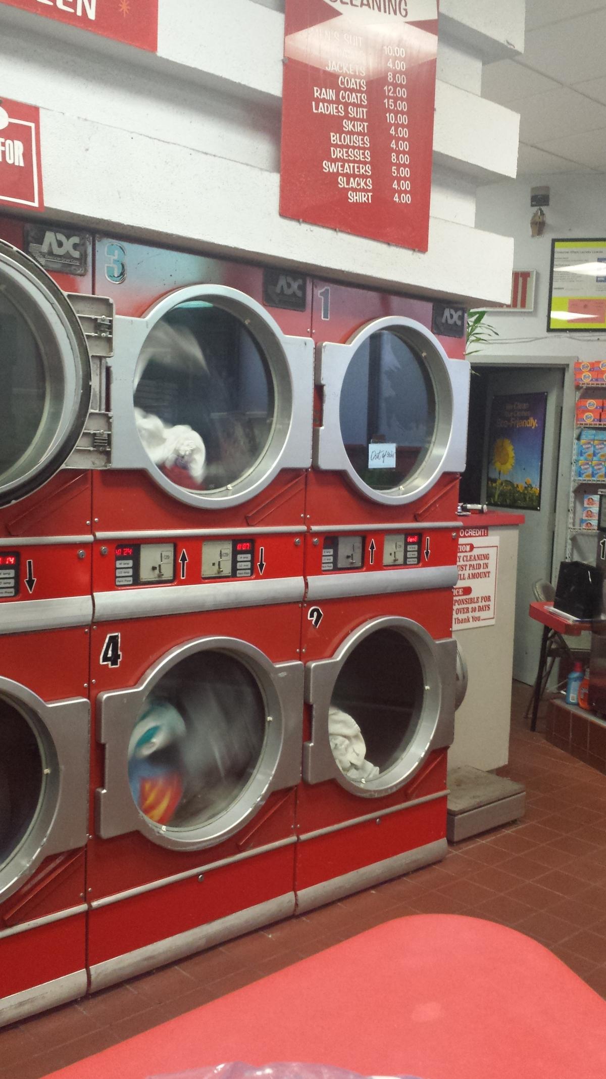 洗衣店出售 $12.5萬